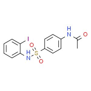 N-(4-N'-乙酰氨基苯磺酰)-2-碘苯胺