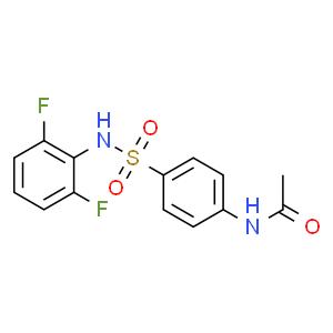 N-(4-N'-乙酰氨基苯磺酰)-2,6-二氟苯胺