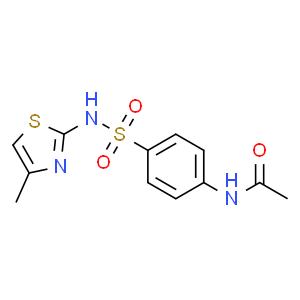 2-(4-N-乙酰氨基苯磺酰)氨基-4-甲基噻唑