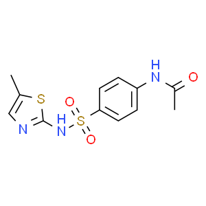 2-(4-N-乙酰氨基苯磺酰)氨基-5-甲基噻唑