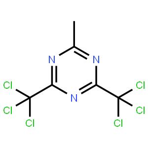 2-Methyl-4,6-bis(trichloromethyl)-1,3,5-triazine  2-甲基-4,6-双(三氯甲基)-1,3,5-三嗪