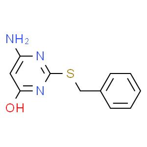 6-氨基-4-羟基-2-苄巯基嘧啶