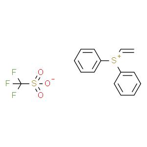 二苯基(乙烯基)锍 三氟甲磺酸盐