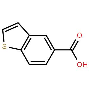 1-苯并噻吩-5-羧酸