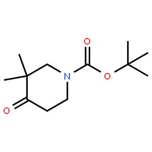 1-BOC-3,3-二万博手机网页app版-4-氧代哌啶