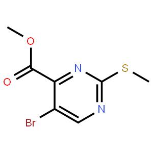 5-溴-2-甲基硫代嘧啶-4-羧酸甲酯