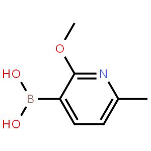2-甲氧基-6-甲基吡啶-3-基硼酸