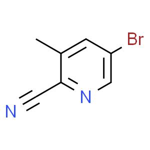 5-溴-3-甲基吡啶-2-甲腈