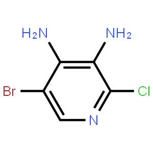 3,4-二氨基-5-溴-2-氯吡啶