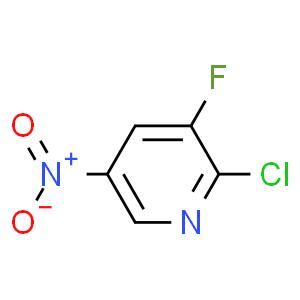 2-氯-3-氟-5-硝基吡啶