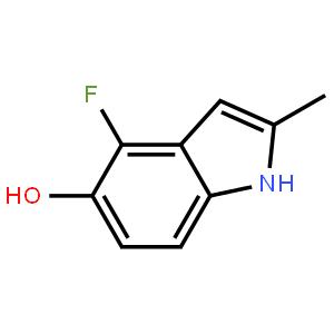 4-氟-5-羟基-2-甲基吲哚