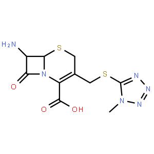 7-氨基-3-(1-甲基-1H-四唑-5-硫代甲基)-8-氧代-5-硫杂-1-氮杂双环[4.2.0]辛-2-烯-2-羧酸