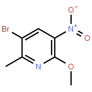 2-甲基-5-硝基-6-甲氧基-3-溴吡啶