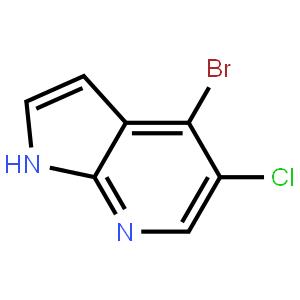 4-溴-5-氯-7-氮杂-1H-吲哚