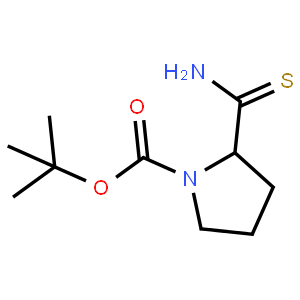 N-BOC-硫代-L-脯氨酰胺