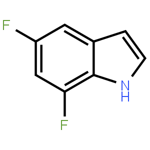 5,7-二氟-1H-吲哚