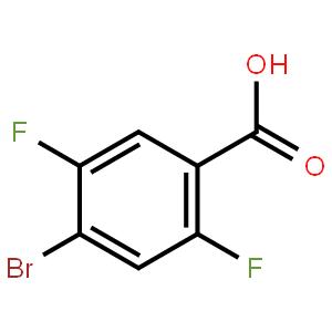 4-溴-2,5-二氟苯甲酸