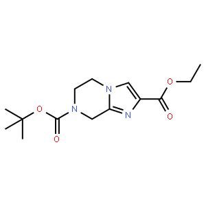 7-叔丁基2-乙基5,6-二氢咪唑[1,2-A]吡嗪-2,7(8H)-二甲酯