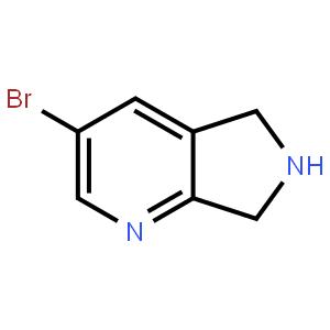 3-溴-6,7-二氢-5H-吡咯并[3,4-B]吡啶
