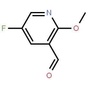 5-氟-2-甲氧基-3-吡啶甲醛