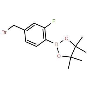 4-溴甲基-2-氟苯硼酸频哪醇酯
