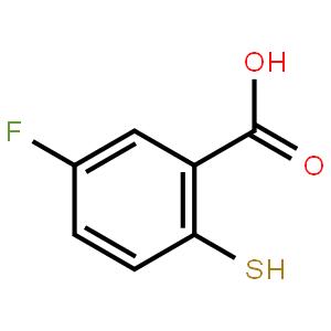 5-氟-2-巯基苯甲酸