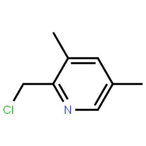 2-氯甲基-3,5-二甲基吡啶 >