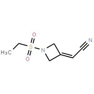2-(1-(Ethylsulfonyl)azetidin-3-ylidene)acetonitrile