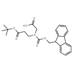 Fmoc-N-(tert-butyloxycarbonylethyl)-glycine