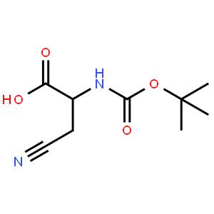 (S)-2-((tert-Butoxycarbonyl)amino)-3-cyanopropanoic acid