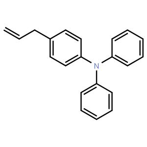 (4-烯丙基苯基)二苯胺,190334-80-6