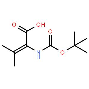 Boc-2,3-dehydro-Valine-OH