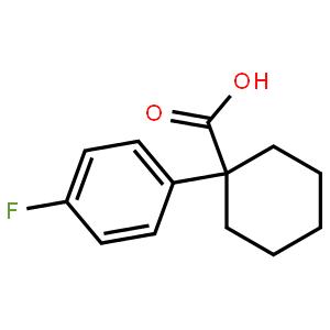1-(4-Fluorophenyl)cyclohexanecarboxylic acid