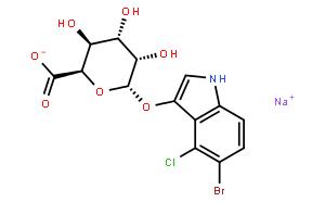 5-溴-4-氯-3-吲哚-β-D-葡萄糖醛酸苷