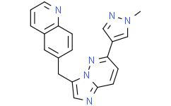 6-[[6-(1-甲基-1H-吡唑-4-基)咪唑并[1,2-B]哒嗪-3-基]甲基]喹啉