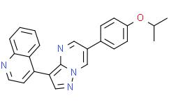 4-[6-[4-异丙氧基苯基]吡唑并[1,5-a]嘧啶-3-基]喹啉