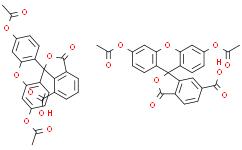 5(6)-Carboxyfluorescein diacetate