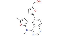 5-[4-[[(5-甲基-2-呋喃基)甲基]氨基]-6-喹唑啉基]-2-呋喃甲醇