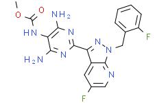 Methyl (4,6-diamino-2-(5-fluoro-1-(2-fluorobenzyl)-1H-pyrazolo[3,4-b]pyridin-3-yl)pyrimidin-5-yl)carbamate
