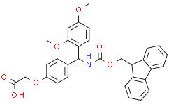 4-[(2,4-二甲氧基苯基)(Fmoc-氨基)甲基]苯氧乙酸