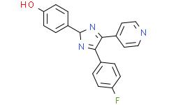 【杀虫畏】4-(4-氟苯基)-2-(4-羟基苯基)-5-(4-吡啶基)-1H-咪唑
