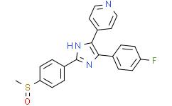 4-[5-(4-氟苯基)-2-[4-(甲基磺酰基)苯基]-1H-咪唑-4-基]-吡啶