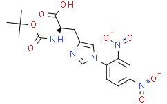 N-(叔丁氧羰基)-1-(2,4-二硝基苯基)-L-组氨酸