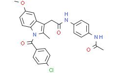 N-(4-acetamidophenyl)-Indomethacin amide