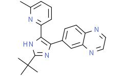 6-[2-(1,1-二甲基乙基)-5-(6-甲基-2-吡啶基)-1H-咪唑-4-基]喹喔啉