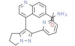 4-[5,6-二氢-2-(6-甲基-2-吡啶基)-4H-吡咯并[1,2-b]吡唑-3-基]-6-喹啉甲酰胺