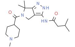PHA-793887【3-甲基-N-[1,4,5,6-四氢-6,6-二甲基-5-[(1-甲基-4-哌啶基)甲酰基]吡咯并[3,4-C]吡唑-3-基]丁酰胺 】