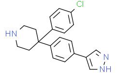 4-(4-氯苯基)-4-[4-(1H-吡唑-4-基)苯基]哌啶