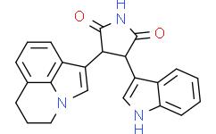 (3R,4R)-3-(5,6-二氢-4H-吡咯并[3,2,1-IJ]喹啉-1-基)-4-(1H-吲哚-3-基)吡咯烷-2,5-二酮