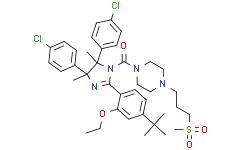 [(4R,5S)-4,5-双(4-氯苯基)-2-[4-(1,1-二甲基乙基)-2-乙氧基苯基]-4,5-二氢-4,5-二甲基-1H-咪唑-1-基][4-[3-(甲磺酰基)丙基]-1-哌嗪基]甲酮